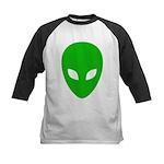 Alien Face - Extraterrestrial Kids Baseball Jersey