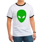 Alien Face - Extraterrestrial Ringer T