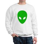 Alien Face - Extraterrestrial Sweatshirt