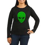 Alien Face - Extraterrestrial Women's Long Sleeve