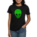 Alien Face - Extraterrestrial Women's Dark T-Shirt