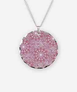 Pink Lace Necklace