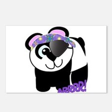 Goofkins Panda Bear Pirate Postcards (Package of 8