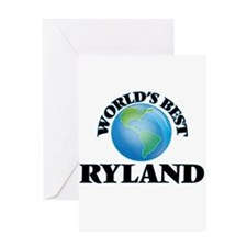 World's Best Ryland Greeting Cards