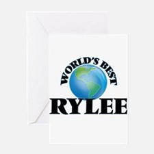 World's Best Rylee Greeting Cards