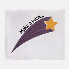 Make A Wish Throw Blanket