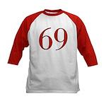 Naughty 69 Kids Baseball Jersey