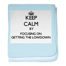 Keep Calm by focusing on Getting The baby blanket