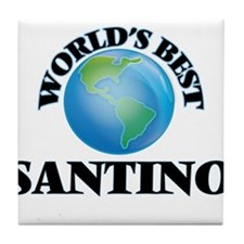 World's Best Santino Tile Coaster