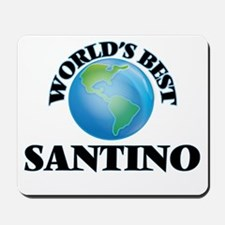 World's Best Santino Mousepad