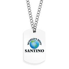 World's Best Santino Dog Tags