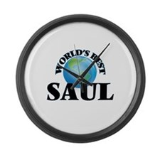World's Best Saul Large Wall Clock