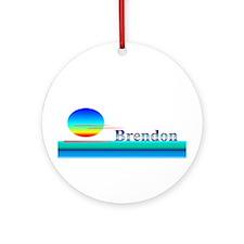 Brendon Ornament (Round)