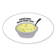 Chicken Noodles Soup Decal
