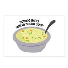 Chicken Noodles Soup Postcards (Package of 8)