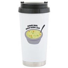 Chicken Noodles Soup Travel Mug