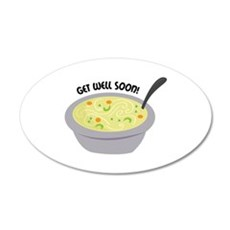 Get Well Soon Wall Decal