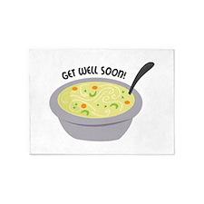 Get Well Soon 5'x7'Area Rug