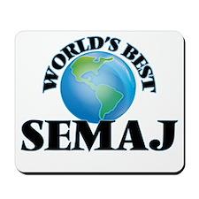 World's Best Semaj Mousepad