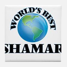 World's Best Shamar Tile Coaster