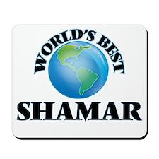 World's Best Shamar Mousepad