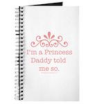 Pink Daddy's Princess Journal
