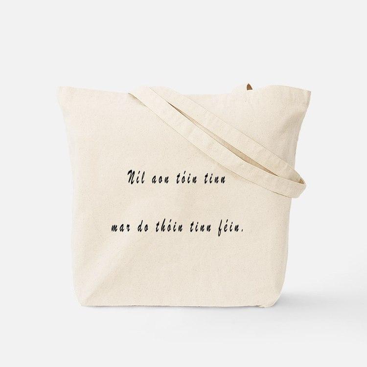 Tinteán agus Tóin tinn Tote Bag