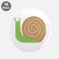"""Slow As Snail 3.5"""" Button (10 pack)"""