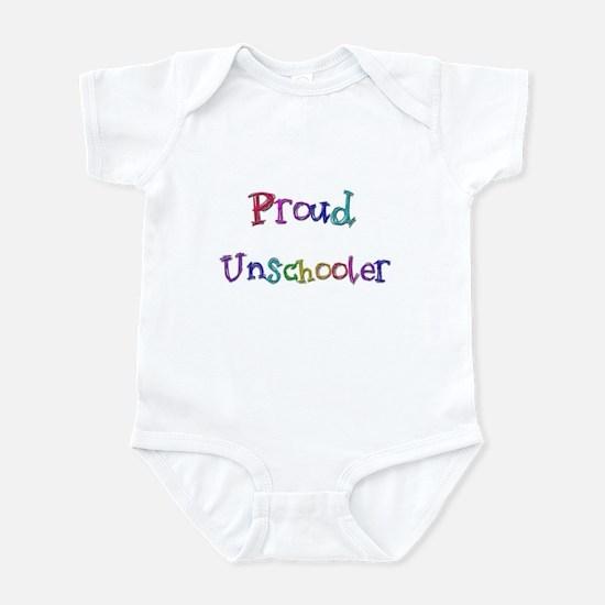 Proud Unschooler 22 Infant Bodysuit