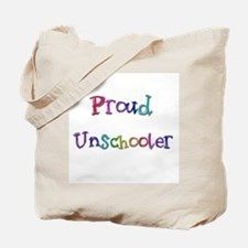 Proud Unschooler 22 Tote Bag