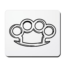 Brass Knuckles Mousepad