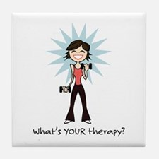 Workout Therapy Tile Coaster