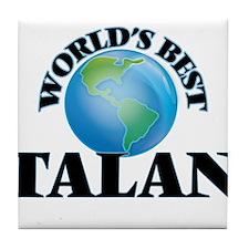 World's Best Talan Tile Coaster