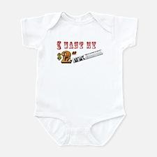 I Want My Two Dollars Infant Bodysuit