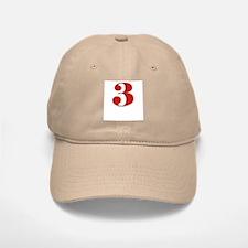 Precocious 3 Baseball Baseball Cap