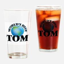 World's Best Tom Drinking Glass