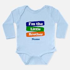 I'm the big little bro Long Sleeve Infant Bodysuit