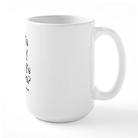 My kid's Autistic Large Mug