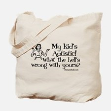 My kid's Autistic Tote Bag