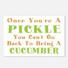 Once You're A Pickle, Cucumber Postcards (Package