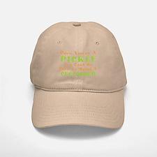 Once You're A Pickle, Cucumber Baseball Baseball Cap