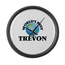 World's Best Trevon Large Wall Clock