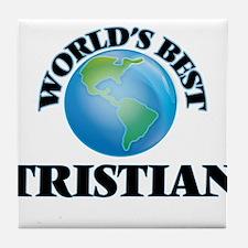 World's Best Tristian Tile Coaster