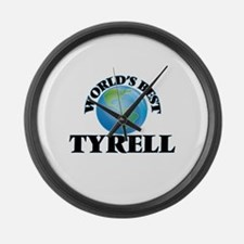 World's Best Tyrell Large Wall Clock