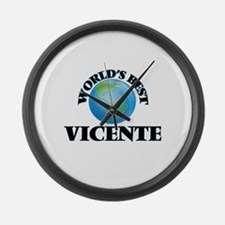 World's Best Vicente Large Wall Clock