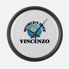 World's Best Vincenzo Large Wall Clock