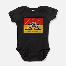 11th Marine Regiment.png Baby Bodysuit