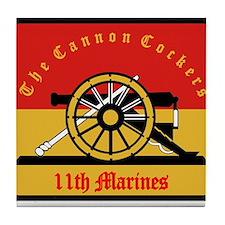 11th Marine Regiment.png Tile Coaster