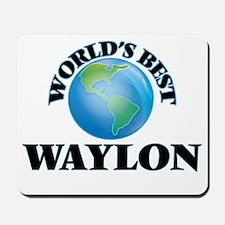 World's Best Waylon Mousepad
