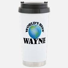 World's Best Wayne Travel Mug
